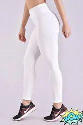 8 Color Cotton Lycra Ladies High Waist Sports Legging