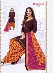 Formal Wear Patiyala Set Shree Ganesh Patiala Dress, Patiyala Salwar Set