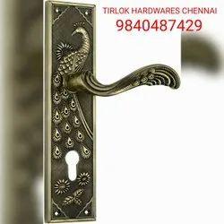 Main Door Zinc Alloy Cylindrical Mortice Locks, Size: 10