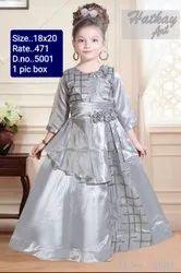 5001 Kids Fancy Gown
