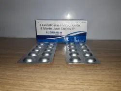 Montelukast Sodium And Levocetirizine Dispersible Tablets