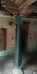 Antique Wooden Pillars