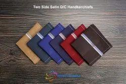 Two Side Satin Dark Color Handkerchiefs