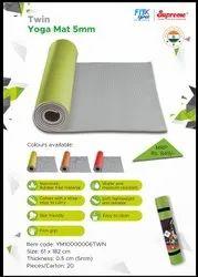 Yoga Mat 5mm (Twin Color )