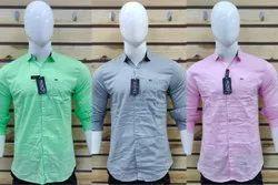 Casual Wear Plain Mens Shirt