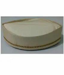 Fond Cotton Wedding Cap, Size: Free