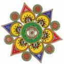 New Rangoli With Kundan And Beads