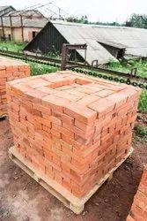 Bricks Rectangular Red Clay Brick, Size: 250*160*50