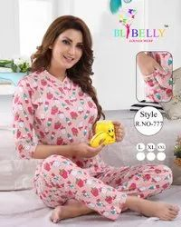 Cotton Top and Pant Ladies Designer Nightwear, Size: M L XL XXL 3XlL, Age Group: 18 To,65