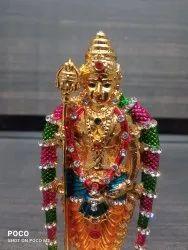 Kulin Golden Murugan Idol For Car Dashboard