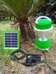 5w Led Solar Lamp with solar panel, For Indoor
