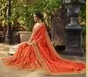 High Quality Embroidery Work Saree