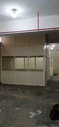 Hinged Toughened Glass Double Door, Thickness: 12 Mm