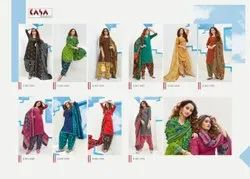 SuryaJyoti A-Line Readymade Cotton Suit