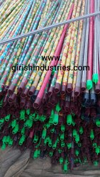 PVC Coated Wooden Mop Stick