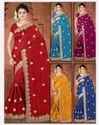 Handwork Party Wear Sarees