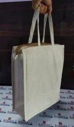 Khushi Canvas Natural Cotton Tiffen Bag
