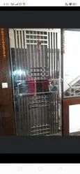Standard Polished Steel Doors, Thickness: 1.2, Material Grade: 384