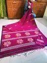 Handloom Soft Cotton Floral Jamdani Sarees