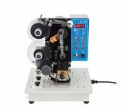 Manual Ribbon Coding Machine