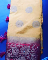 Party Wear Sarees, With blouse piece
