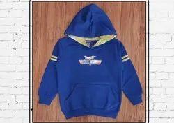 Unisex Printed Boy's Hooded Fleece Sweatshirts