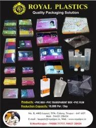 Pvc Transparent Packaging Box