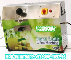 Commercial Automatic Sugarcane Juice Machine