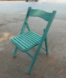 Painted Wooden Folding Chair