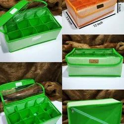 Cardboard Foldable Storage Box, For Household, Square