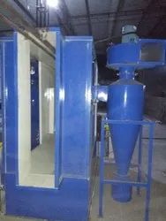 Aluminium Powder Coating Recovery Booth, Diesel, Automation Grade: Semi-Automatic