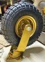 Pneumatic Rubber wheel 10 x 3
