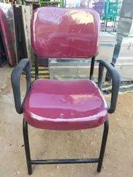 Fabric Havi Iron 4 leg chair, Blue