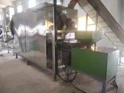 Automatic Namkeen Kurkure Making Machine With Pellet Burner, For Industrial, Model Name/Number: KRJPB500