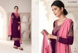 Embroidered Georgette Aashirvaad Dresses