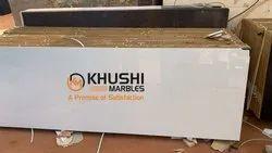 Polished Finish Slab Nano White Marble, Application Area: Flooring