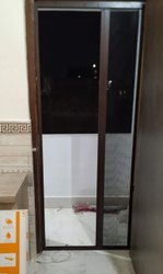 KARUNA ENTERPRISES Aluminium Mosquito Net Sliding Doors Window, For Home