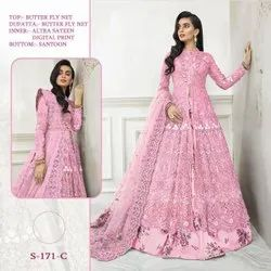 44-45 On Availablity Semi stitched Suit & Dress Materials, Upper, Lower With Dupatta