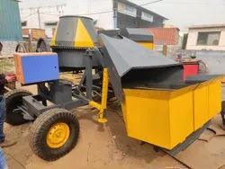 Knoxe 3 Bin Hydraulic Hopper, For Construction, Model Name/Number: 250T