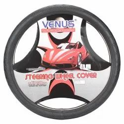 Embossed Designer Steering Cover Sizes  and colors Are Available