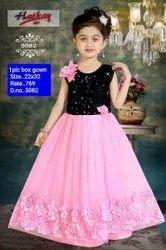 5082 Kids Party Wear Gown