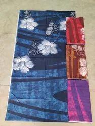 Full Length Cotton Procin Print Daman Nighty, Free Size