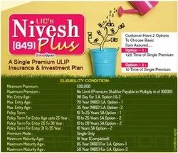 Cash Equivalents Lic Investment Plan, One Time