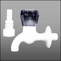 PTMT Garden Tap With Flange