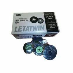 LM LR50B Max Letatwin Ink Ribbon Black