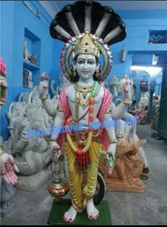 Marble Vishnu Ji Statue