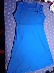 Nylon Girls Stylish Designer Hosiery Midi Dress
