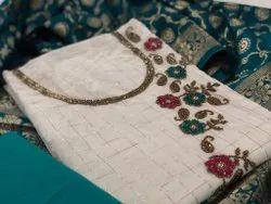 Ligalz Presents Int Banarsi Suit With Blouse