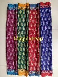 Ligalz Presents Son Premium Crape Silk Saree With Blouse