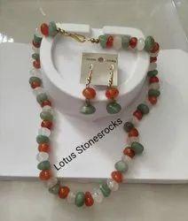 Semiprecious Beads Necklace